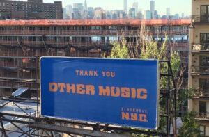 Tienda de discos Other music NYC